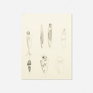 Harry Bertoia, Untitled (Jewelry Studies)