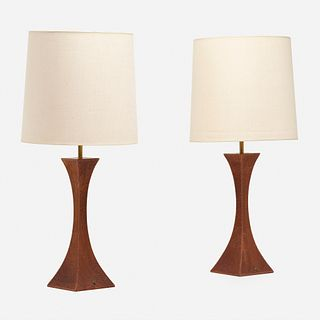 Robert Whitley, Table lamps from the Florence Green residence, pair