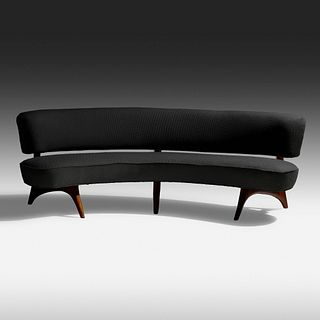 Vladimir Kagan, Floating Seat and Back sofa