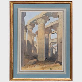 After David Roberts (1796-1864): Views of Egypt: Four Plates