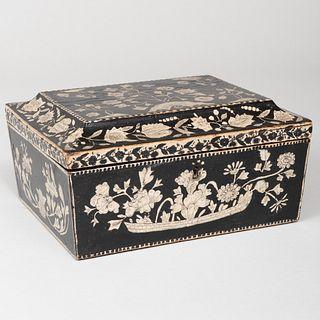 English Penwork Box