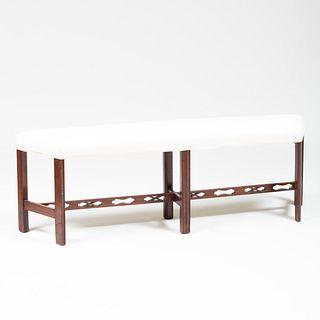 George III Style Mahogany Bench