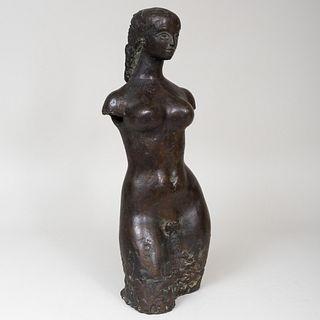 Attributed to Antoniucci Volti (1915-1989): Figure