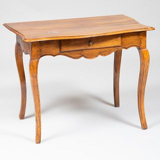 Louis XV Provincial Walnut Side Table