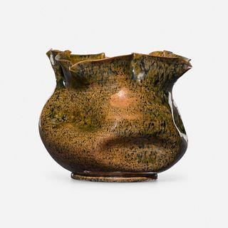 George E. Ohr, Vase