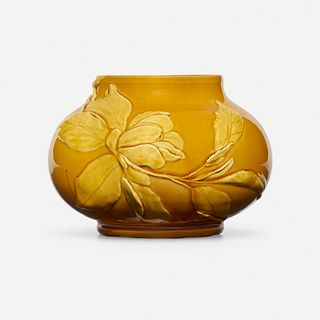 Josephine Day for Chelsea Keramic Art Works, Vase with magnolias