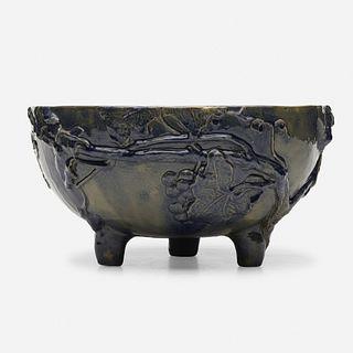 Clara Louise Poillon, Rare center bowl