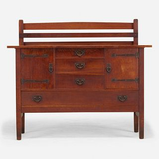 Gustav Stickley, Sideboard, model 814 1/2