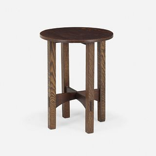Gustav Stickley, Early tea table, model 604