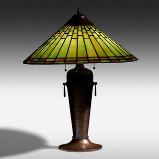 Roycroft, Table lamp, model 905