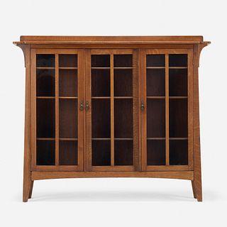Limbert, Triple-door bookcase, model 359
