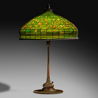 Tiffany Studios, Autumn Leaf table lamp