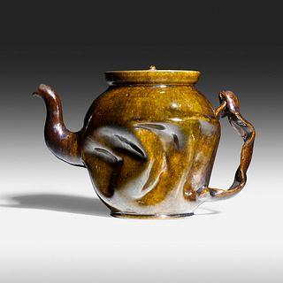 George E. Ohr, Teapot