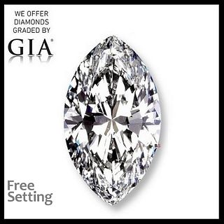 10.10 ct, D/VS1, Marquise cut Diamond. Unmounted. Appraised Value: $2,651,200