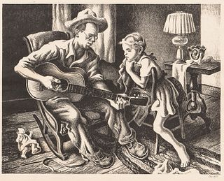 Thomas Hart Benton (American, 1889-1975)