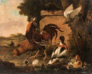 After Melchior de Hondecoeter (Dutch, 1636-1695)