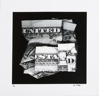 """Dan Tague (1974-, New Orleans), """"United We Stand,"""" 2020, archival pigment print, edition 3 of 10, signed lower right, unframed, H.- 16 in., W.- 16 in."""