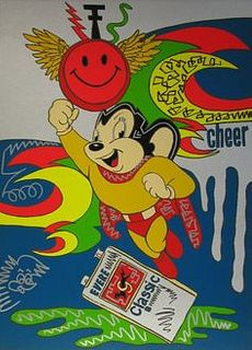 """Ronnie Cutrone, """"Mighty Mouse"""""""