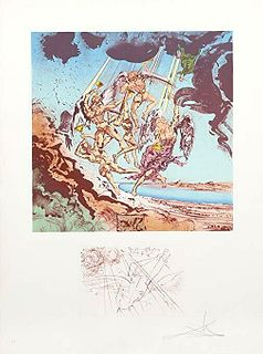 Return of Ulysses, Salvador Dali