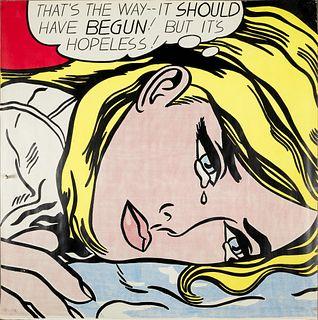 Roy Lichtenstein screen print