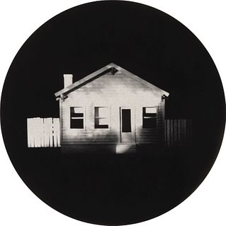 James Casebere (American, b. 1953) White & Black House , 1993