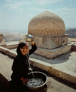 Shirin Neshat (Iranian, b. 1957) Water over Head from Soliloquy Series, 1999