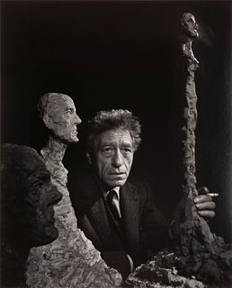 Yousuf Karsh (Armenian/Canadian, 1908-2002) Alberto Giacometti, 1965 (printed ca. 1970)