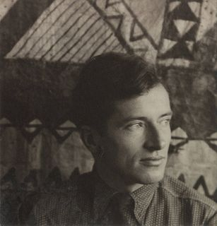 Walker Evans (American, 1903-1975) Portrait of Paul Grotz, 1929