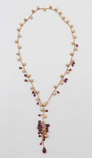 Marco Bicego 18 k Lariat Necklace