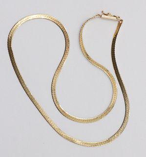 14 K Yellow Gold Chain
