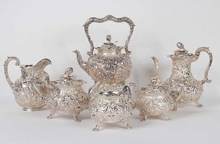 Jenkins and Jenkins Southern Sterling Tea Service