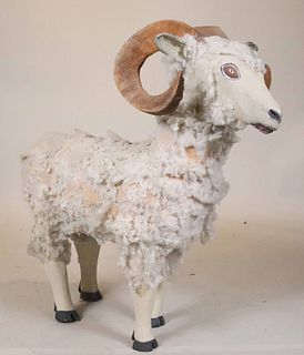Leroy Archuleta, Carved and Painted Dall Sheep