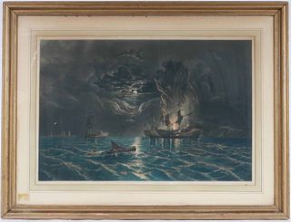 Lithograph, Painted by James Hamilton