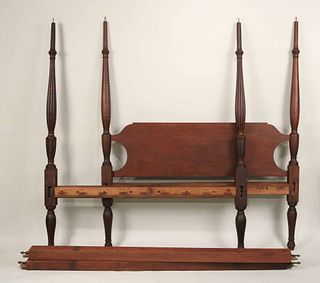 Federal Cherrywood and Pine Bedstead