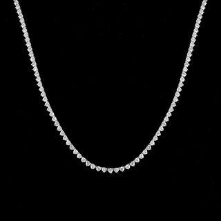 Diamond and Platinum Riviera Necklace