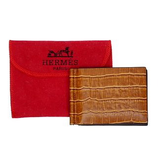 Mens Faux Hermes Leather Wallet