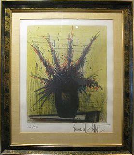 """Bernard Buffet, """"Untitled"""" Lithograph 1967"""