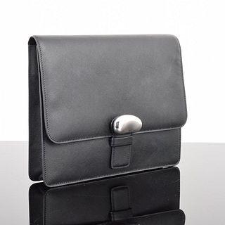 "Elsa Peretti for Tiffany & Co. Clutch Bag, Sterling Silver ""Bean"" Design"