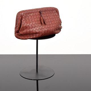 Bottega Veneta Intrecciato Frame Bag/Clutch