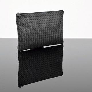 Bottega Veneta Intrecciato Zipper Pouch/Clutch