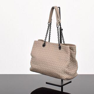 Bottega Veneta Fume' Intrecciato Shoulder Bag