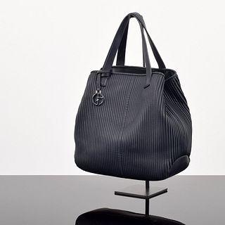 Giorgio Armani Ribbed Tote Bag
