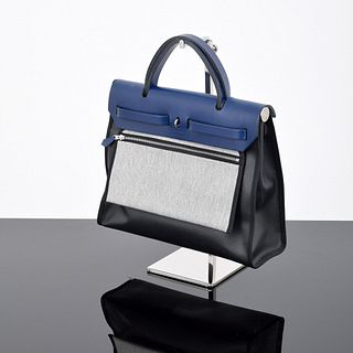 "Hermes ""Herbag Zip 31"" Hand/Shoulder Bag"