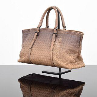 Bottega Veneta Ombre Intrecciato Tote Bag