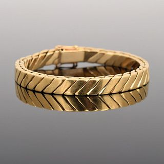 18K Gold Estate Bracelet
