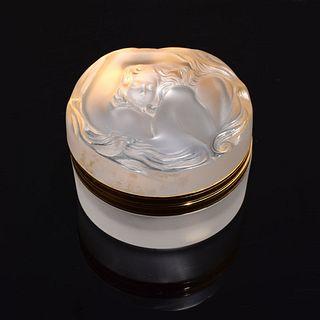"""Lalique """"Daphne"""" Lidded Box"""