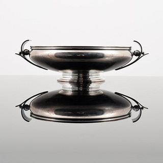 H. Nils Danish Sterling Silver Serving Bowl