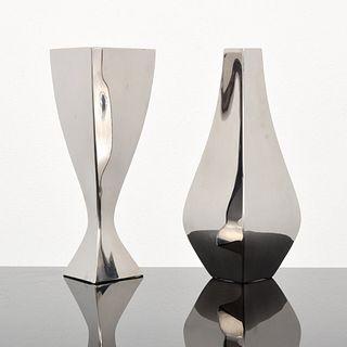 "2 Michael Aram ""Relationship"" Vases"