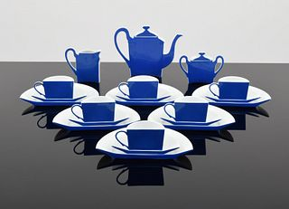 "Arman ""Demie Tasse"" Tea Set, Limoges Porcelain"