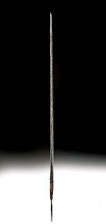 Long 16th C. European Iron Rapier Blade